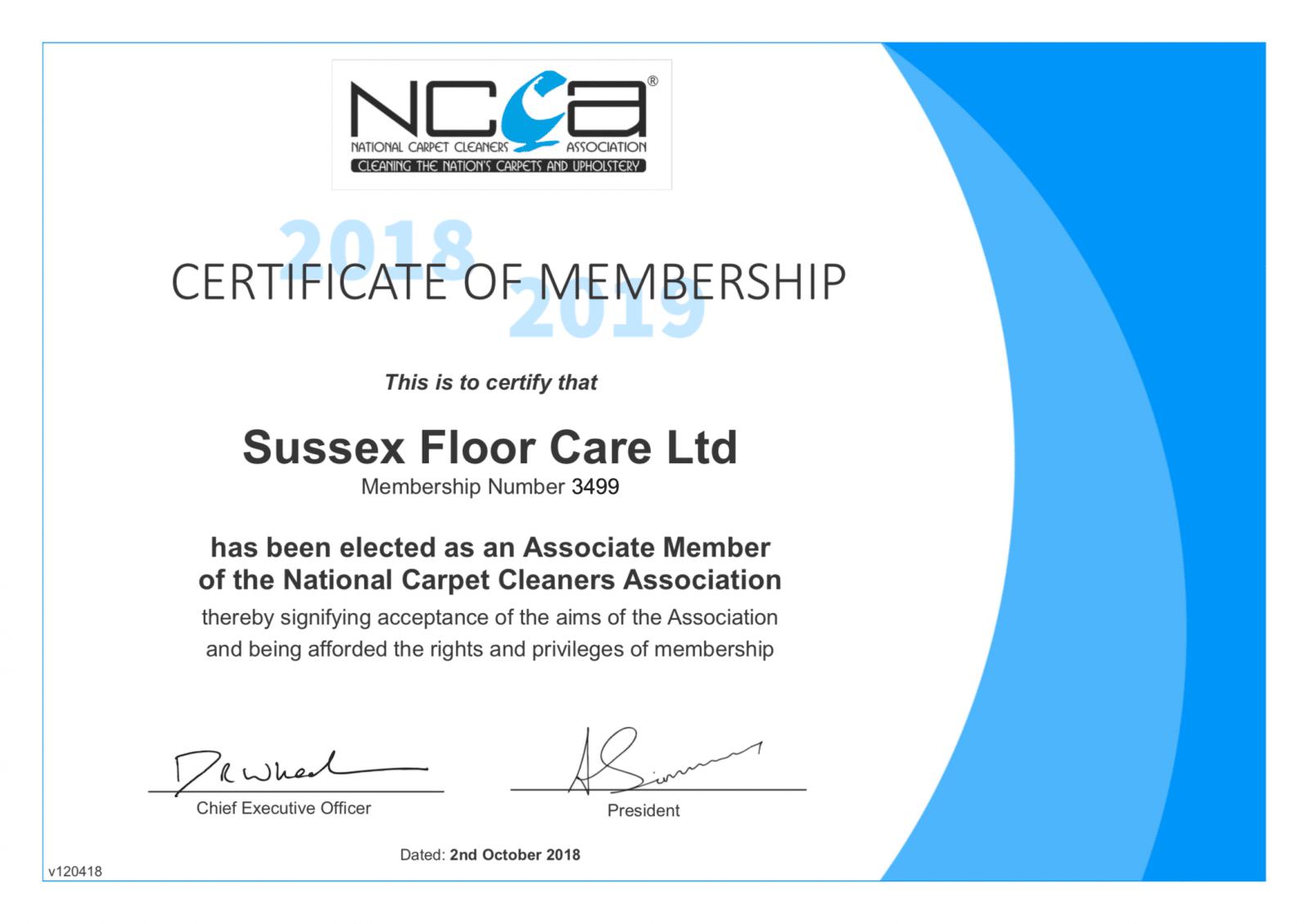 NCCA Membership